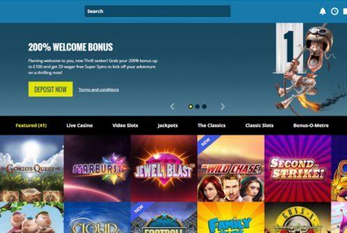 thrills casino ilmaista superkierrosta